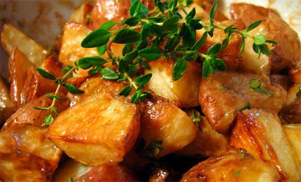 печеная картошка
