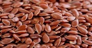россыпь льняного семени