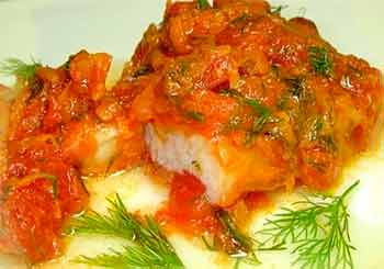 рыба тушеная с морковью