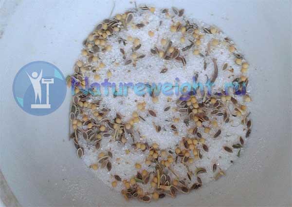 соль со специями для засолки рыбы