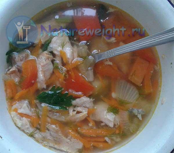 Суп из кеты рецепт с фото пошагово