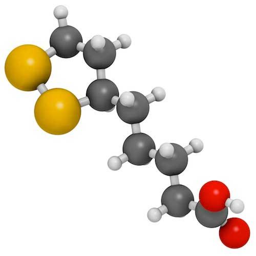 молекула альфа-липолевой кислоты