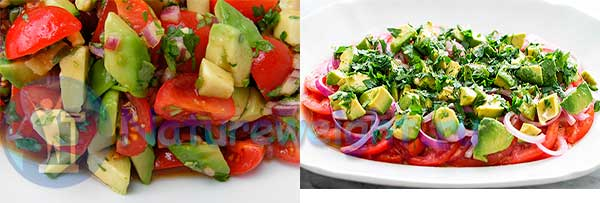 Рецепты приготовления салатов