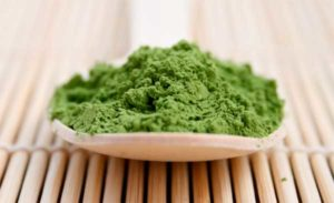 порошковый зеленый чай