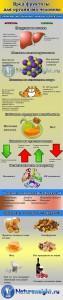 Что полезнее сахар или фруктоза? Инфографик