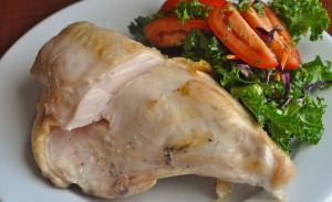 куриная грудка с овощами