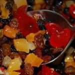 россыпь сушеных фруктов