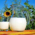 молоко на солнышке