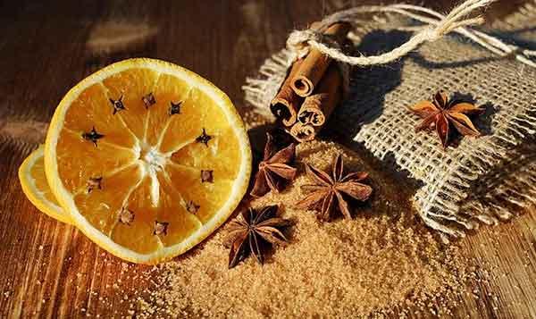 апельсин и специи