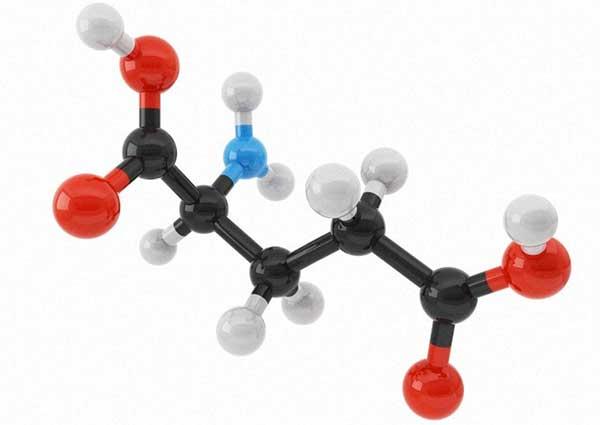 модель молекулы глутамата натрия