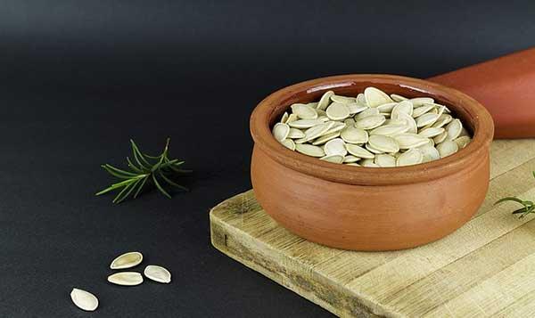 горшочек с семенами