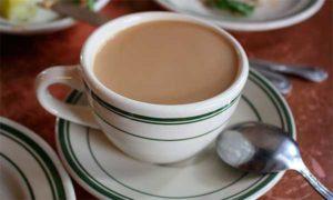 чашка с напитком из цикория
