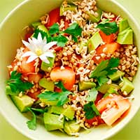суп=пюре с зеленой гречкой