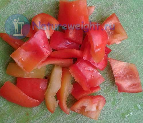 кусочки болгарского перца