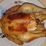 цыпленок, запеченный в духовке со специями