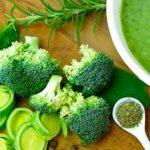 брокколи и другие овощи