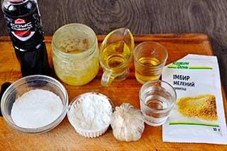 ингредиенты для терияки