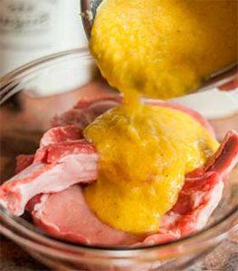 ананасовый маринад для мяса