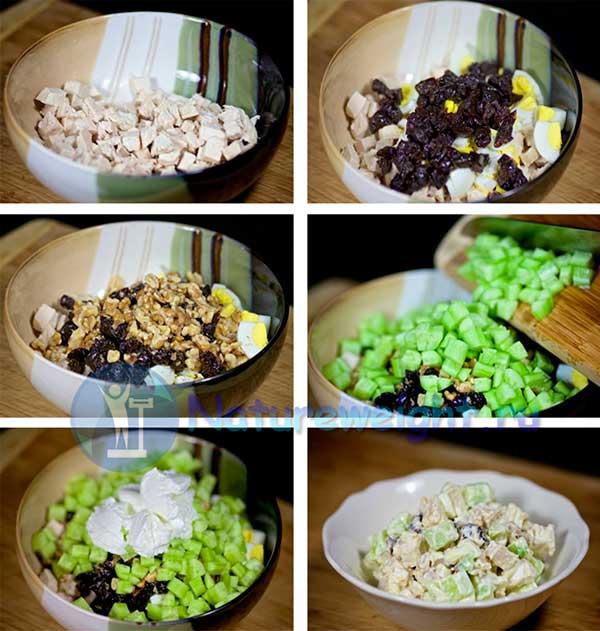 этапы приготовления блюда