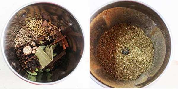 приготовление в кофемолке