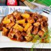 Китайский рецепт свинины в кисло-сладком соусе с ананасами
