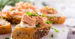 рыбный бутерброд