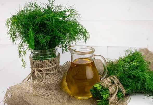 масло и зеленушка