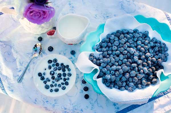 россыпь ягод