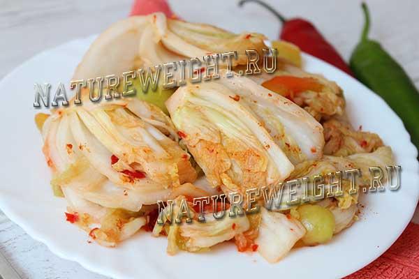 квашеная пекинская капуста
