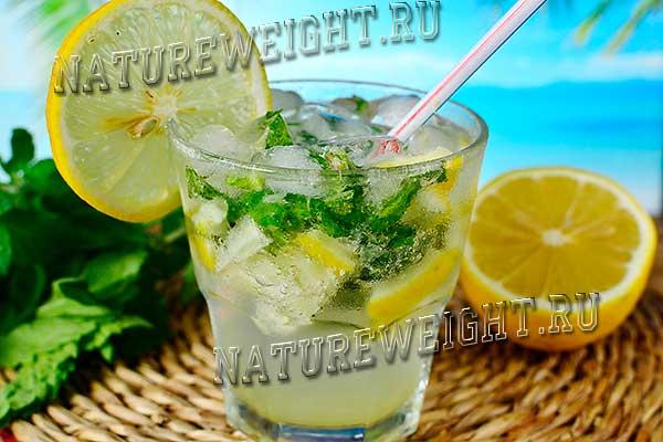 домашний мохито без алкоголя