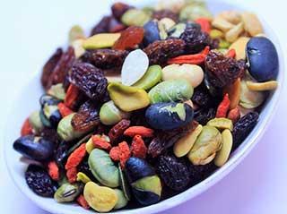 орешки с сухофруктами