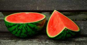 разрезанный плод