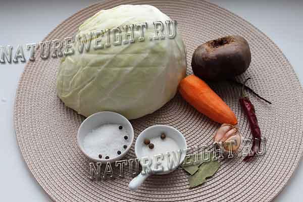 овощи и специи