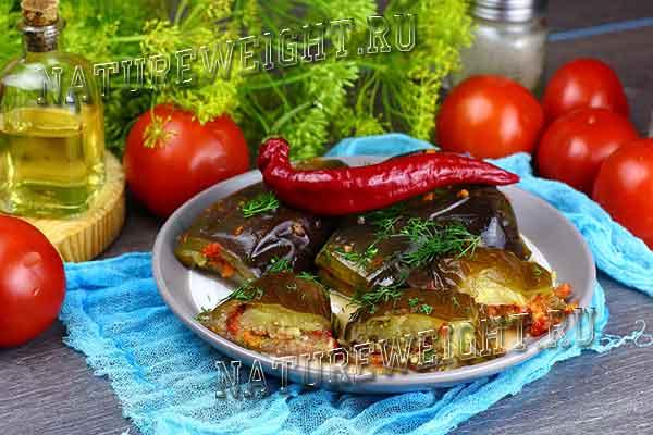 Квашеные баклажаны - рецепты с морковью, зеленью, чесноком в банках и под гнетом