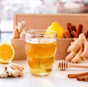 имбирный напиток с апельсином