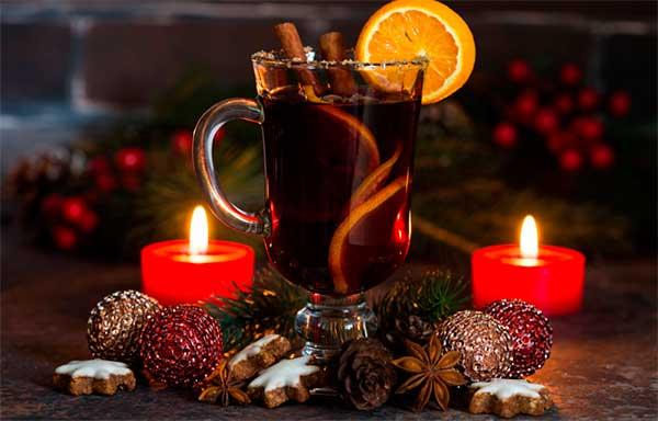 ароматный новогодний напиток