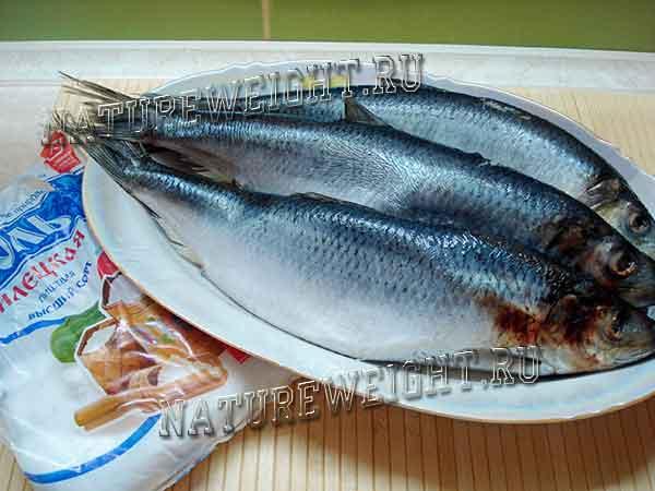 сырая рыбка