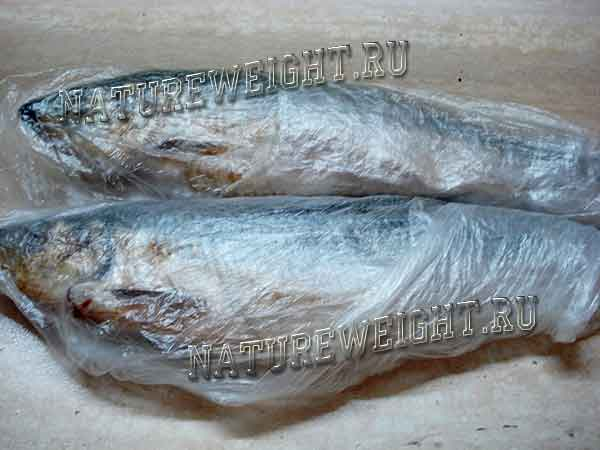 рыба в пакете