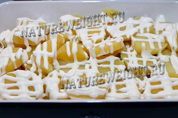 картошка под сметаной