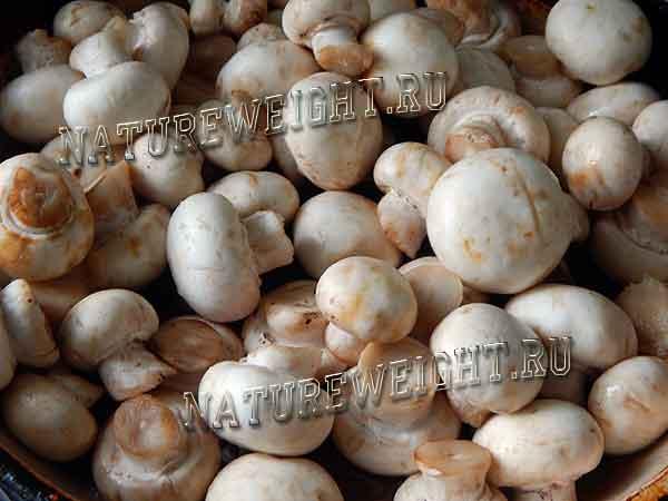 очищенные грибочки