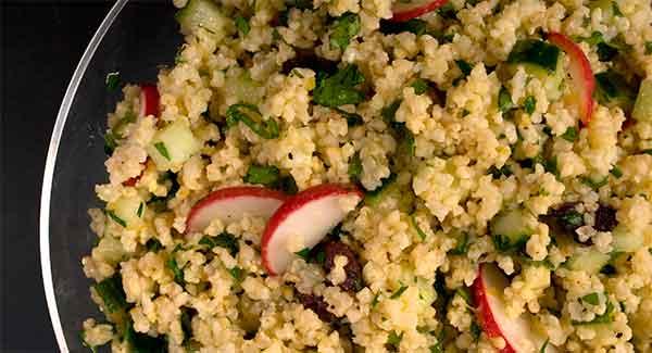 пшенный салат
