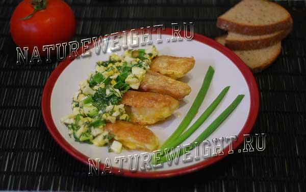 заливка рыбы соусом