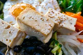тофу в кунжуте