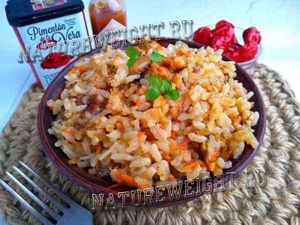 рис с мидиями