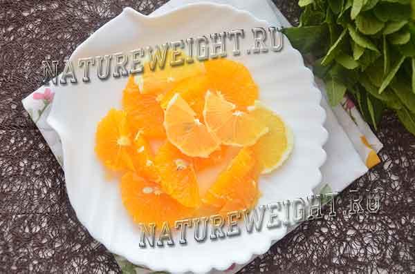 мякоть апельсина