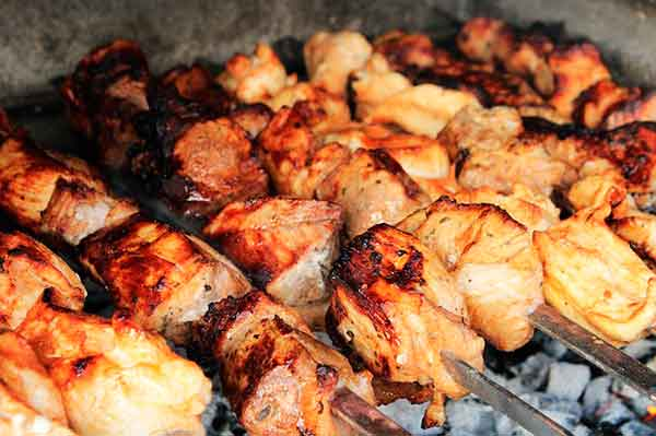 свиной шашлык