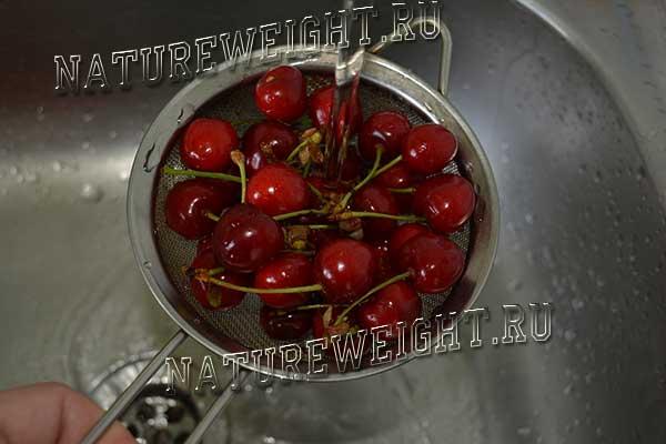 очищение ягод
