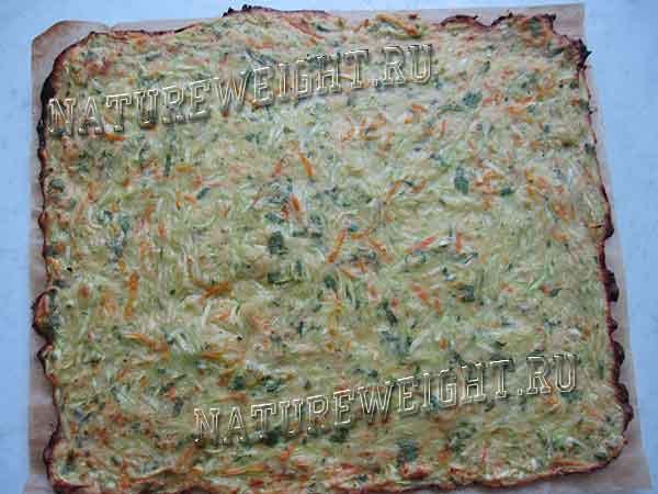 тесто на пергаменте
