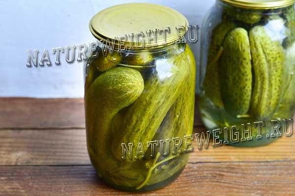Консервирование огурцов на зиму: рецепт с лимонной кислотой вместо уксуса