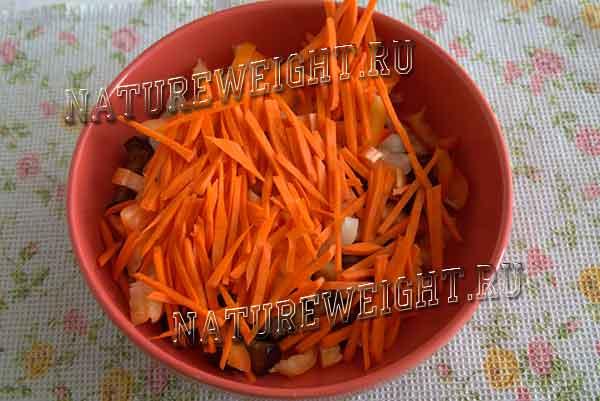 паприка и морковь